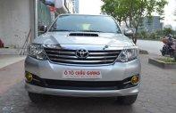 Cần bán xe Toyota Fortuner 2.5G MT đời 2015, màu bạc giá 855 triệu tại Hà Nội