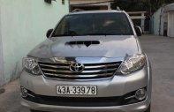 Cần bán lại xe Toyota Fortuner 2015, màu bạc giá 835 triệu tại Đà Nẵng