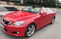 Bán Lexus IS 2010, màu đỏ, nhập khẩu như mới giá 1 tỷ 180 tr tại Tp.HCM