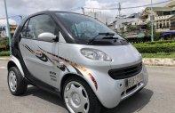 Bán xe Smart 2005 2 cửa 2 chỗ màu bạc, xe số tự động nhỏ ngọn nội thất đẹp, nệm da giá 178 triệu tại Tp.HCM