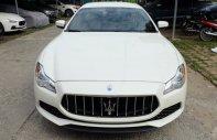 Bán xe Maserati Quattroporte nhập khẩu chính hãng giá tốt nhất, xe Maserati QP trắng mới giá 7 tỷ 32 tr tại Tp.HCM