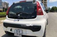 Bán Peugeot 107 2011, màu trắng, nhập khẩu nguyên chiếc, giá tốt giá 320 triệu tại Tp.HCM