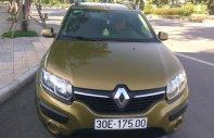 Ít nhu cầu sử dụng nên bán, xe Renault Sandero Stepway tháng 10 năm 2015, màu vàng, nhập khẩu giá cạnh tranh giá 580 triệu tại Hà Nội