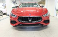 Bán xe Maserati Ghibli Gransport 2018, màu đỏ Rosso Eneragianeragia, nhập khẩu chính hãng giá 7 tỷ 393 tr tại Tp.HCM