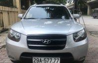 Bán Hyundai Santa Fe 2.2 AT MLX 2009, màu bạc, giá 555tr giá 555 triệu tại Hà Nội