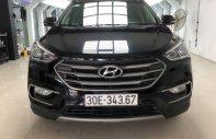 Cần bán gấp Hyundai Santa Fe 2.4 AT sản xuất 2016, màu đen như mới giá 1 tỷ 10 tr tại Hà Nội