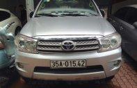 Bán xe Toyota Fortuner 2.5G đời 2011, màu bạc, máy dầu, xe cực chất giá 615 triệu tại Hà Nội