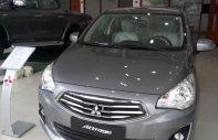 Bán Mitsubishi Attrage MT sản xuất 2017, màu xám (ghi), nhập khẩu nguyên chiếc giá cạnh tranh giá 425 triệu tại Hà Nội