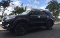 Cần bán xe Toyota Fortuner V 2015, số tự động màu đen giá 717 triệu tại Tp.HCM
