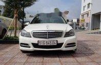 Cần bán lại xe Mercedes C250 sản xuất 2012, màu trắng   giá 710 triệu tại Tp.HCM