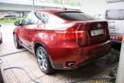 Cần bán xe BMW X6 sản xuất năm 2009, màu đỏ, nhập khẩu nguyên chiếc giá 920 triệu tại Tp.HCM