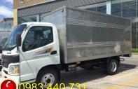 Xe Thaco Aumark 500A - tải trọng 4,9 tấn - thùng dài 4,28m - LH: 0983.440.731 giá 387 triệu tại Tp.HCM