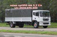 Xe tải Veam VPT950 9.3 tấn, thùng dài 7m6, giá tốt nhất, hỗ trợ trả góp giá 723 triệu tại Hà Nội