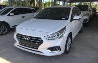 Bán Hyundai Accent 1.4AT trắng 2018, giao xe ngay, hỗ trợ trả góp. Lh 0973.160.519 giá 499 triệu tại Hà Nội