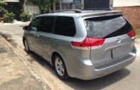 Bán Toyota Sienna LE 3.5 AT FWD 2011, màu bạc, nhập khẩu giá 1 tỷ 160 tr tại Tp.HCM