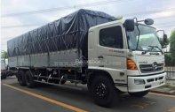 Bán Hino FL8JTSA ô tô tải mui bạt, thùng kín, giá rẻ giá 1 tỷ 400 tr tại Tp.HCM