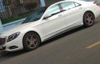 Chính chủ bán xe Mercedes S400 2014, màu trắng   giá 2 tỷ 600 tr tại Tp.HCM