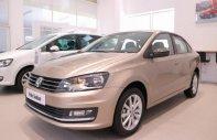 Bán xe Volkswagen Polo Sedan 5 chỗ, màu nâu vàng, nhập khẩu nguyên chiếc chính hãng mới 100%, hỗ trợ trả góp.LH ngay 0933 365 188  giá 699 triệu tại Tp.HCM