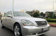 Lexus LS430 nhập 2006 hàng full cao cấp nhất đủ đồ chơi, màu bạc số tự động 8 cấp giá 665 triệu tại Tp.HCM