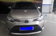 Bán xe Toyota Vios 1.5E năm sản xuất 2017, màu vàng cát, 536 triệu, số tự động giá 536 triệu tại Tp.HCM