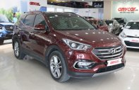 Bán xe Hyundai Santa Fe 2.2AT năm sản xuất 2018, màu đỏ giá 1 tỷ 195 tr tại Hà Nội