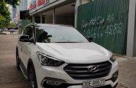 Cần bán Hyundai Santa Fe 2.4L đời 2017, màu trắng, odo 1 vạn, biển HN siêu đẹp giá 1 tỷ 70 tr tại Hà Nội