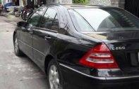 Bán Mercedes C 200 đời 2003, màu đen xe gia đình, 215 triệu giá 215 triệu tại Tp.HCM