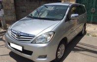 Cần bán nhanh Innova 2009 màu bạc, số sàn, xe đi kỹ còn đẹp giá 435 triệu tại Tp.HCM