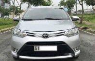 Bán Toyota Vios sản xuất năm 2015, màu bạc số sàn giá 435 triệu tại Tp.HCM