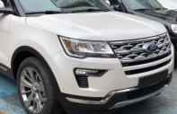 Bán ô tô Ford Explorer Facelift 2.3 Ecoboost đời 2018, màu trắng giá 2 tỷ 180 tr tại Tp.HCM