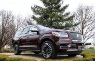 Bán Lincoln Navigator Black Label màu đỏ, nội thất nâu đỏ, xe sản xuất 2018, nhập khẩu nguyên chiếc mới 100% giá 8 tỷ 899 tr tại Hà Nội