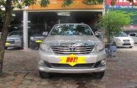 Salon bán Toyota Fortuner 2.7V 2013, màu bạc giá 725 triệu tại Hà Nội