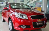 Bán Chevrolet Aveo 2018, màu đỏ, giảm tới 60 triệu, hỗ trợ vay 90%, lãi suất thấp. Thủ tục vay nhanh gọn giá 399 triệu tại Ninh Bình