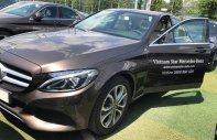 Bán xe Mercedes C200, màu nâu 2018 chính hãng. Trả trước 450 triệu rinh xe ngay giá 1 tỷ 450 tr tại Tp.HCM