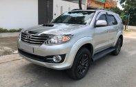 Gia đình muốn bán Fortuner 2015, máy dầu màu bạc xe đẹp nguyên zin giá 845 triệu tại Tp.HCM