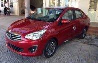 Bán Mitsubishi Attrage năm sản xuất 2018, màu đỏ, nhập khẩu nguyên chiếc giá cạnh tranh giá 396 triệu tại Đà Nẵng