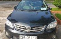 Bán Toyota Corolla Altis đời 2010, màu đen, nhập khẩu giá 530 triệu tại Hà Nội