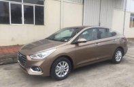 Bán xe Hyundai Accent năm 2018 màu vàng cát, xe giao ngay giá Giá thỏa thuận tại Tp.HCM