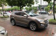 Cần bán Hyundai Santa Fe Full dầu đời 2015, màu nâu giá 1 tỷ 39 tr tại Hà Nội