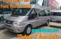 Tháng 7 âm vẫn ầm ầm mua xe Ford Transit 2018 với chương trình ưu đãi cực lớn từ Ford An Đô giá 815 triệu tại Hà Nội