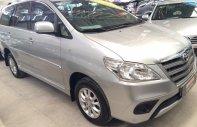 Bán xe Innova E sản xuất 2014, màu bạc, giá tốt, hỗ trợ vay ngân hàng 70% xe giá 609 triệu tại Tp.HCM