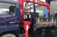 Bán Hyundai HD120SL gắn cẩu Unic UR-V344 loại 3 tấn 4 đốt, thùng dài giá 1 tỷ 215 tr tại Hà Nội