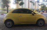 Bán xe Fiat 500 2009, màu vàng, nhập khẩu nguyên chiếc giá 450 triệu tại Hà Nội