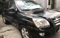 Cần bán lại xe Kia Sportage MT sản xuất 2006, màu đen như mới, giá 295tr giá 295 triệu tại Tp.HCM