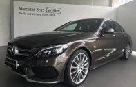 Bán Mercedes C300 AMG 2018, màu nâu, trả 520 triệu nhận xe giá 1 tỷ 910 tr tại Tp.HCM