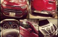 Cần bán gấp Ford EcoSport AT Titanium đời 2014, màu đỏ xe gia đình giá 535 triệu tại Hà Nội