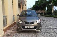 Cần bán gấp Kia Morning SX 1.1MT 2012, màu xám chính chủ giá cạnh tranh giá 198 triệu tại Hà Nội