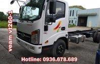 Bán xe tải Veam VT260-1 thùng dài 6m, động cơ Isuzu, 1.95 tấn, giá rẻ giá 455 triệu tại Hà Nội