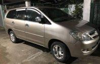 Cần bán gấp Toyota Innova G đời 2006, màu vàng chính chủ, giá 350tr giá 350 triệu tại Tp.HCM