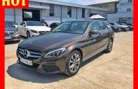 Bán xe Mercedes mới chưa lăn bánh giá xe cũ C200 nâu 2018 chính hãng giá 1 tỷ 450 tr tại Tp.HCM